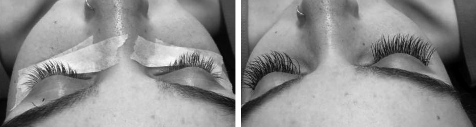 Photo of Extended Eyelashes